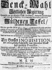 Alte Berufe Jäger & Waidmann Trophäe Für Schürzenjäger Und Sonstige Lateiner 1664