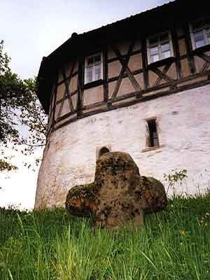 Lateinisches Haus des Esels marquetta